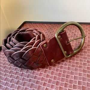 Abercrombie and Fitch Braided Belt